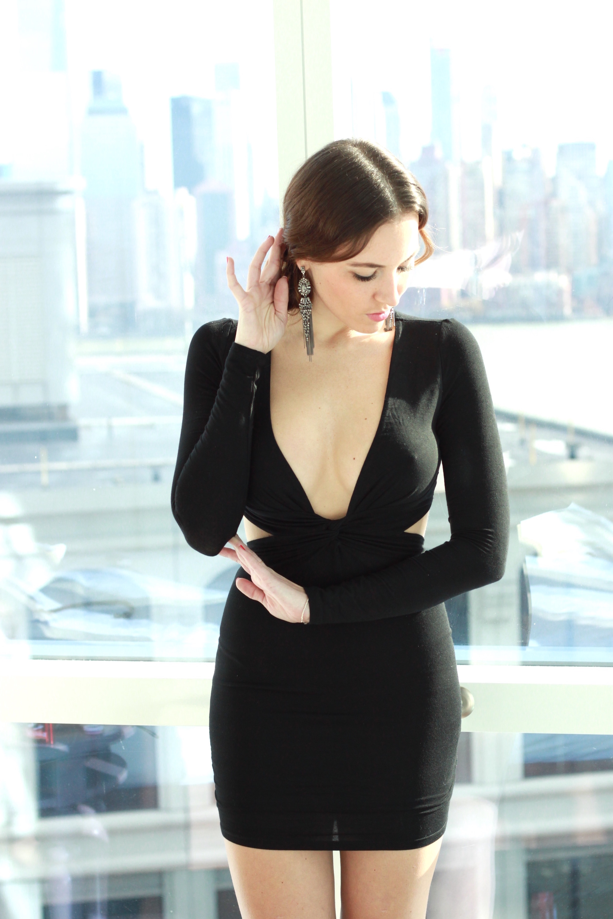NYE Outfit: little black dress