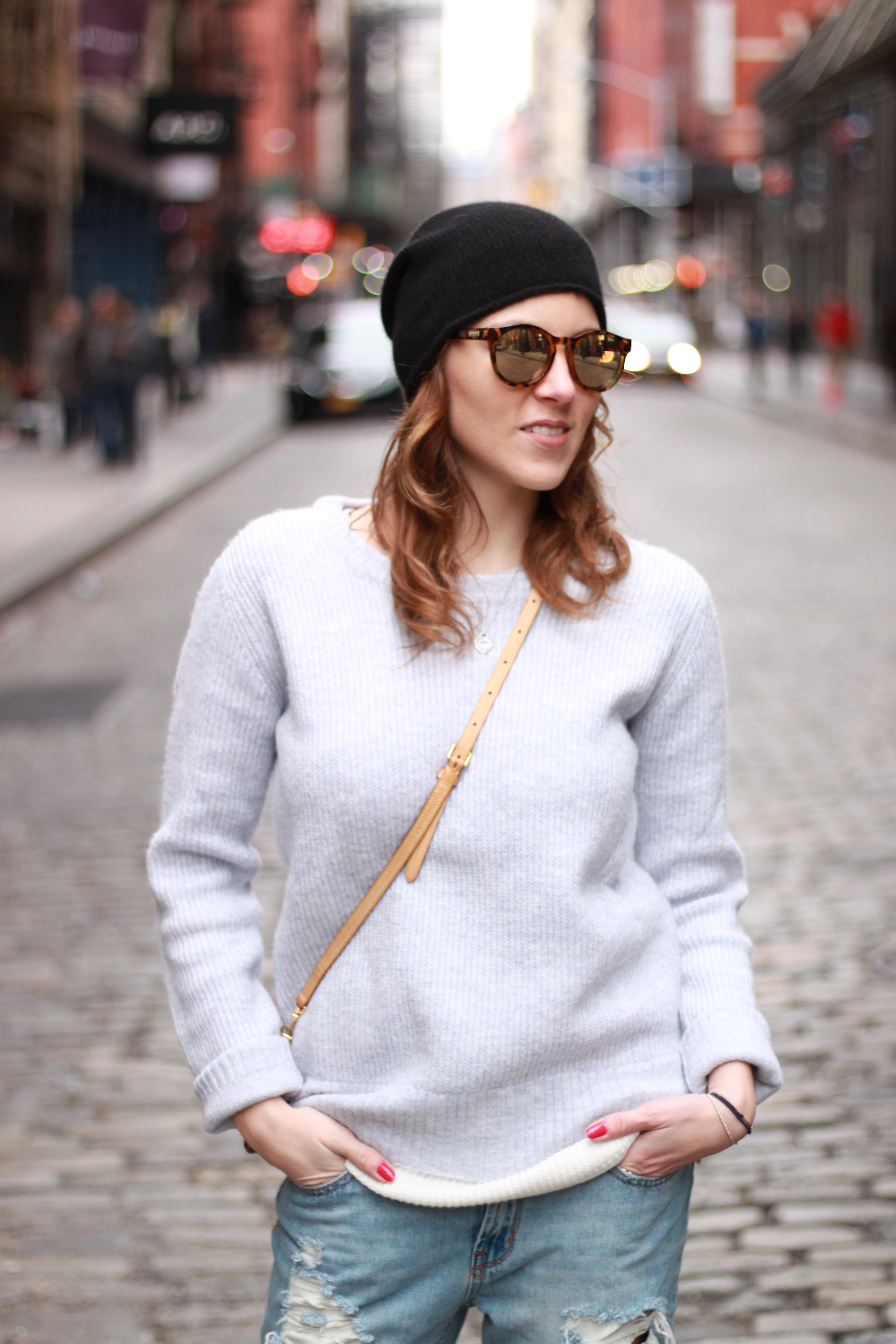 Blog your style cozy knit1