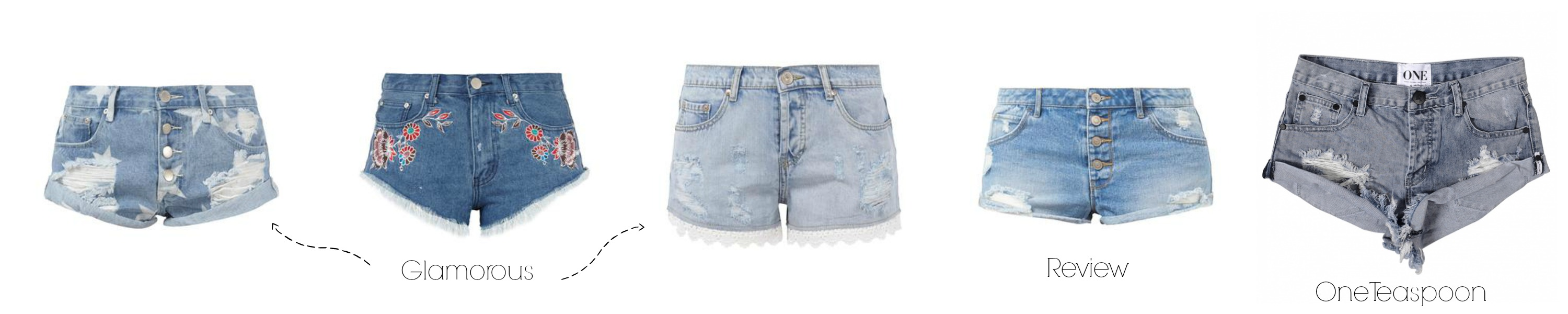 Denim Guide Jeansshorts