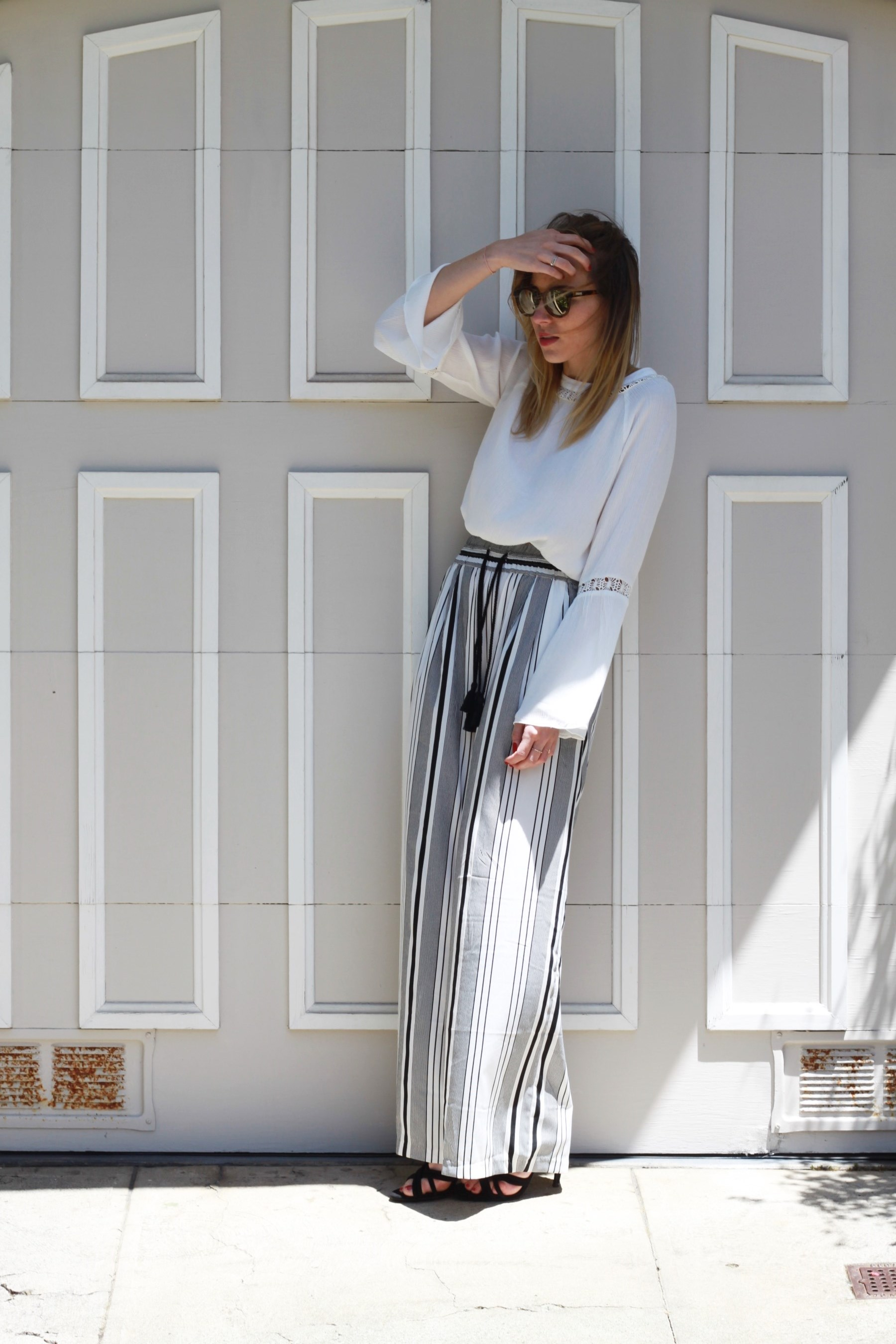 OUTFIT Silk Pants and cropped longsleeve San Francisco (1)